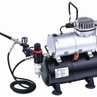 VIG186 AIRBRUSH &  TANK COMPRESSOR SET