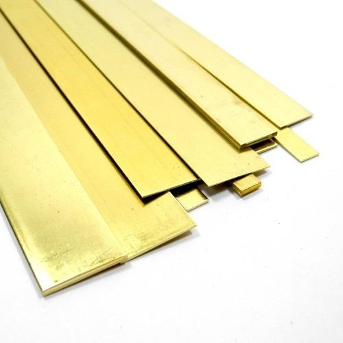 "KS8232 (232) BRASS STRIP .016"" x 1"" (1pc/card)"