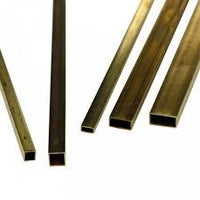 "KS8264 RECTANGULAR BRASS TUBE 1/8"" x 1/4"" (1pc/card)"
