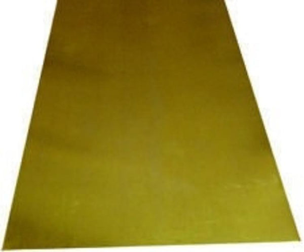 "KS252 BRASS SHEET .015"" x 4"" x 10"" (1pc)"