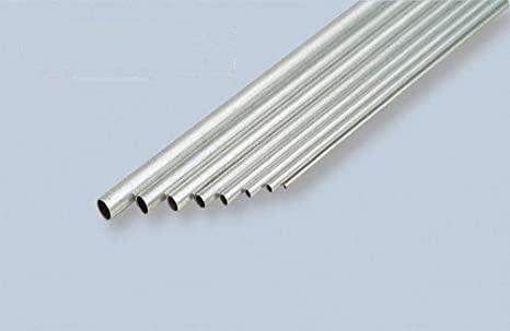 KS9806 ALUMINUM TUBE 7mm DIAMETER (2pc/card)