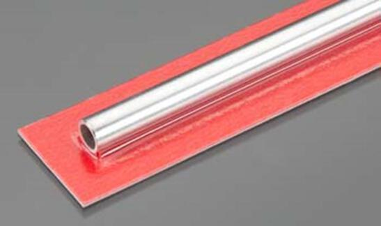 KS9810 HEAVY ALUMINUM TUBE 8mm DIAMETER (1pc/card)