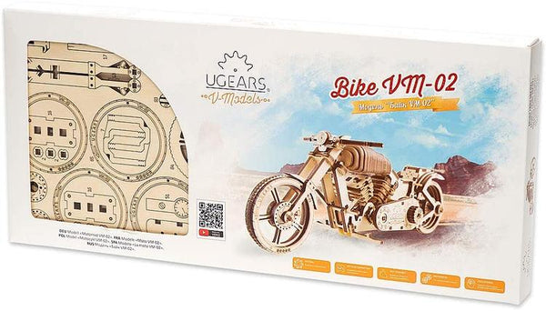 UG70051 BIKE VM-02 Wooden Mechanical Model