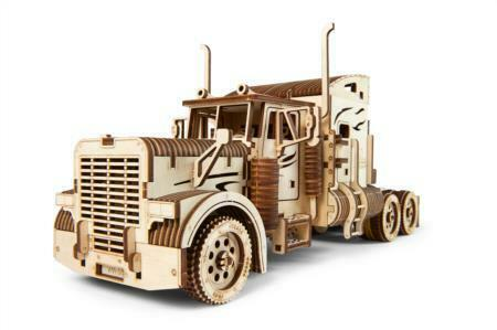 UG70056 Heavy Boy Truck VM-03 Wooden Mechanical Model