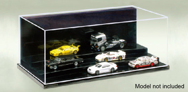 "MT09810 9-1/8 X 4-3/4 X 3-3/8"" STEPPED DISPLAY CASE"