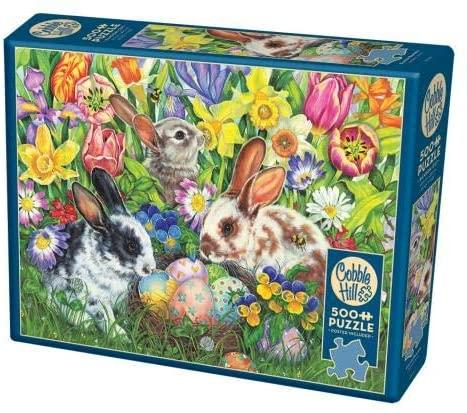 COB85047 EASTER BUNNIES 500 PCE