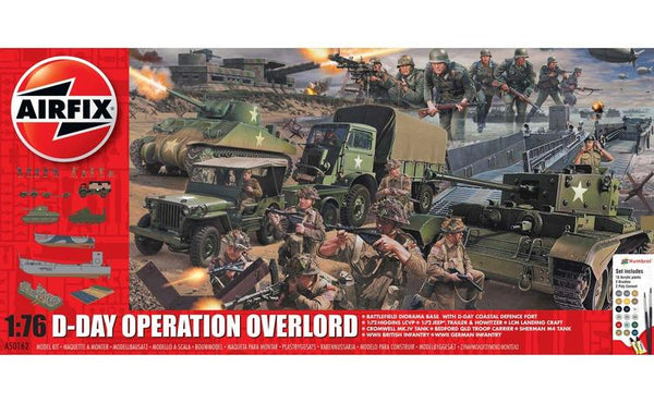 AIR50162 1/76 D-DAY OPERATION OVERLORD STARTER SET