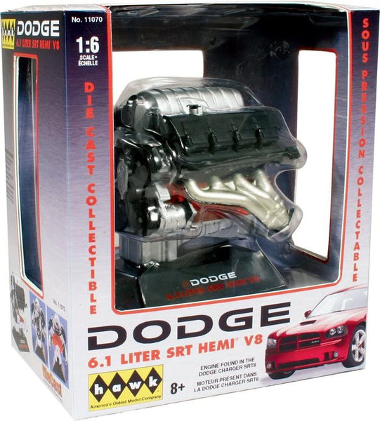HAW11070 1/6 DODGE 6.1 LITER SRT SEMI V8