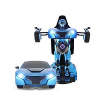 RAS74701 BLUE RS TRANSFORMABLE CAR