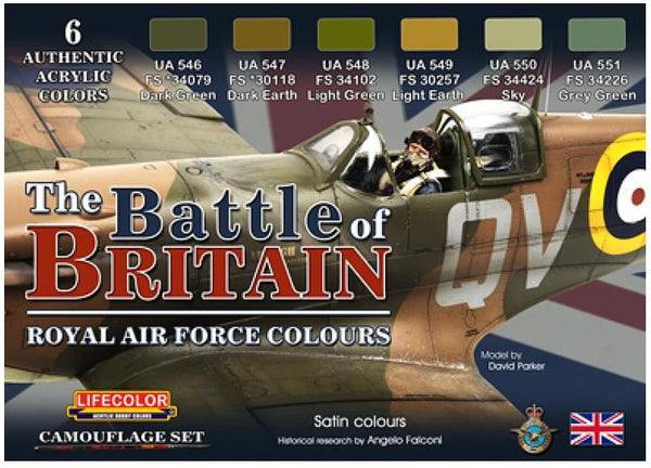 LIFCS35 BATTLE OF BRITAIN RAF COLOURS