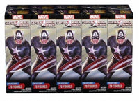 MARVEL HEROCLIX CAPTAIN AMERICA AND THE AVENGERS BRICK