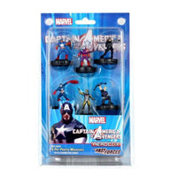 MARVEL HEROCLIX CAPTAIN AMERICA AND THE AVENGERS FAST FORCES  6 FIG SET