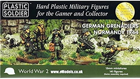 WW2015011 1/100 GER GRENADIERS NORMANDY 1944