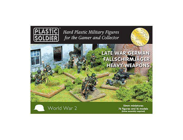 WW2015014 1/100 GER FALLSCHIRMJAGER HEAVY WEAPONS