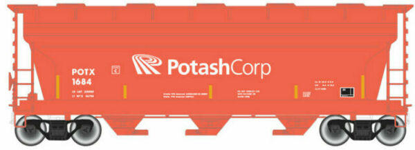 ATL50004015 N ACF 3560 COVERED HOPPER POTASH CORP RD#1589