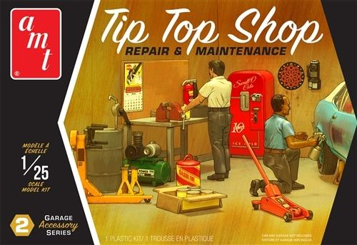 AMTPP016 1/25 TIP TOP SHOP GARAGE ACCESSORIES 2
