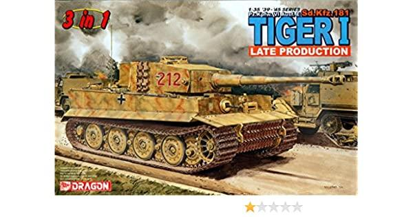 DRA6253 1/35 TIGER 1 LATE PRODUCTION