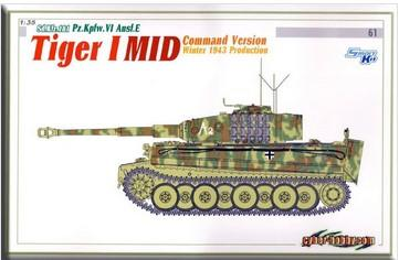 DRA6660 1/35 TIGER 1 MID COMMAND VERSION