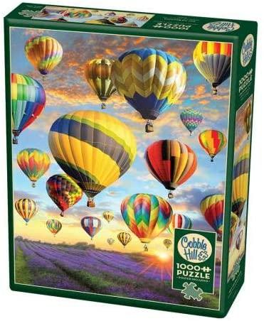 COB80025 HOT AIR BALLOONS 1000 PIECE PUZZLE