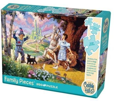 COB54621 THE WIZARD OF OZ FAMILY PIECES 350 PIECE PUZZLE