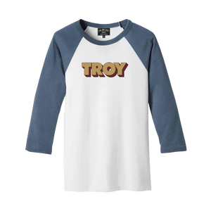 3D TROY UNISEX RAGLAN DENIM