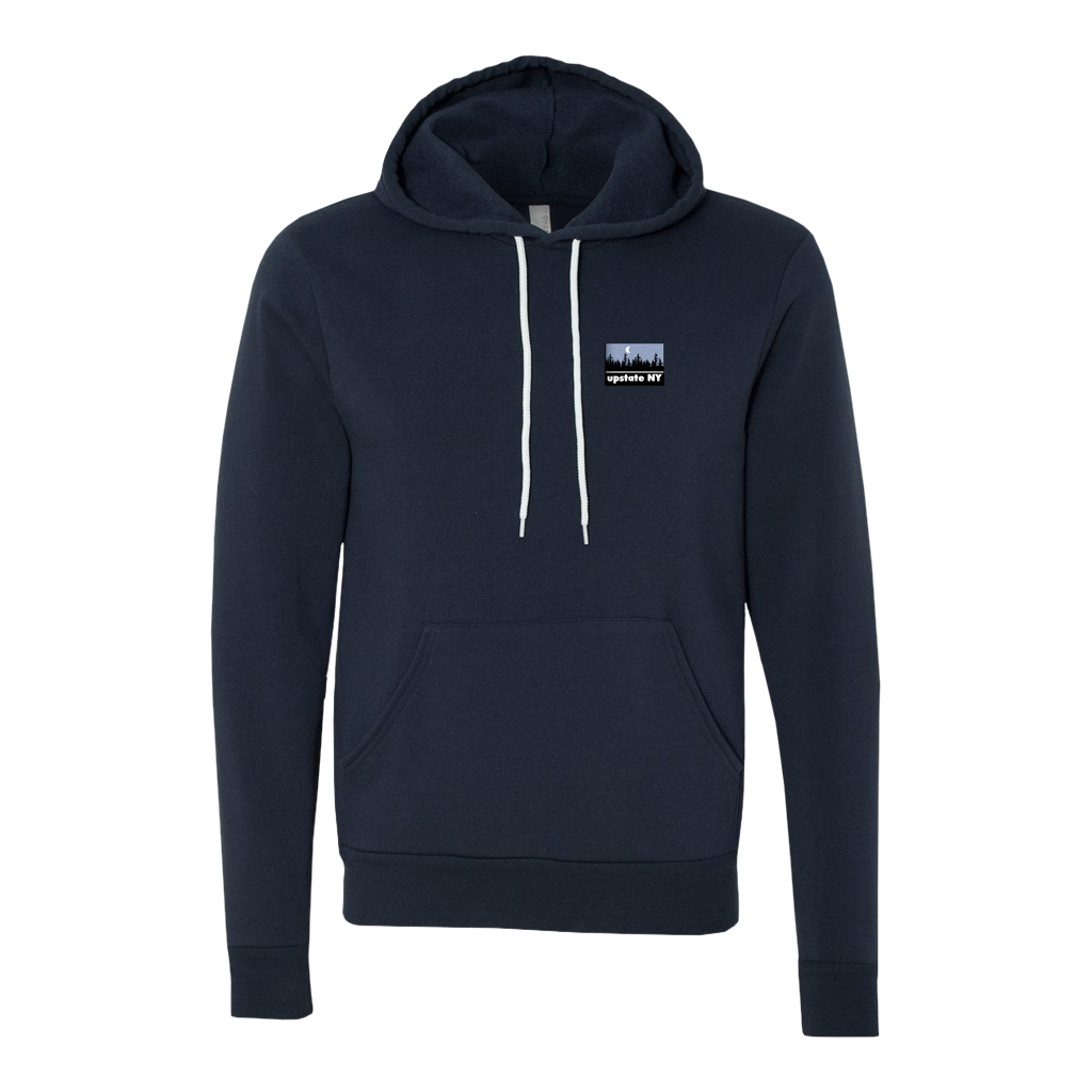 UPSTATE NIGHT PATCH HOODIE NAVY