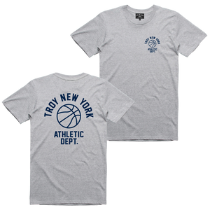 ATHLETIC DEPT TEE ATHLETIC HEATHER