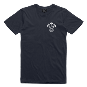 ATHLETIC DEPT TEE NAVY