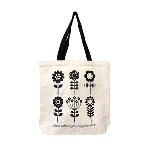 FLOWER STACK TOTE BAG