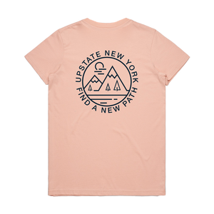 NEW PATH CIRCLE WOMEN'S TEE PALE PINK