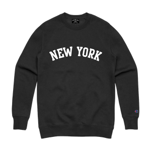 NEW YORK ARCH CREWNECK BLACK
