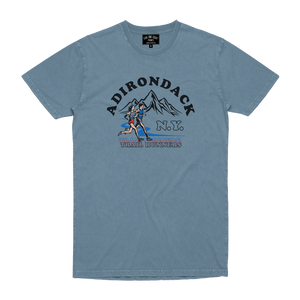 TRAIL RUNNERS TEE ICE BLUE