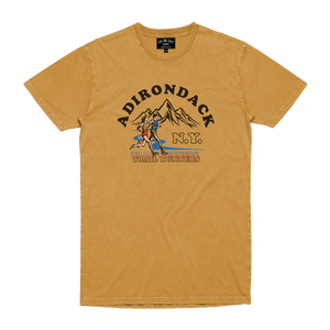 TRAIL RUNNERS TEE MUSTARD