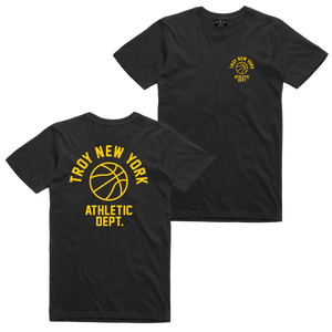 ATHLETIC DEPT TEE BLACK