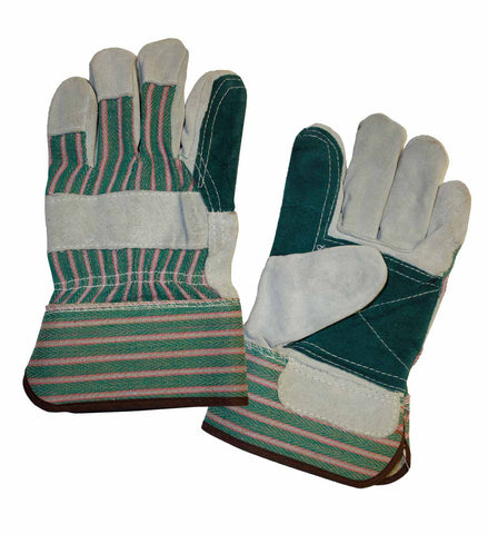 Split Cowhide Leather Palm Gloves