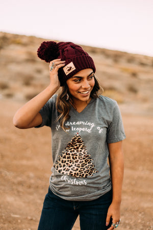 Leopard Christmas T-Shirt