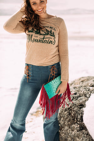 Take me to the Mountains- Long Sleeve Shirt