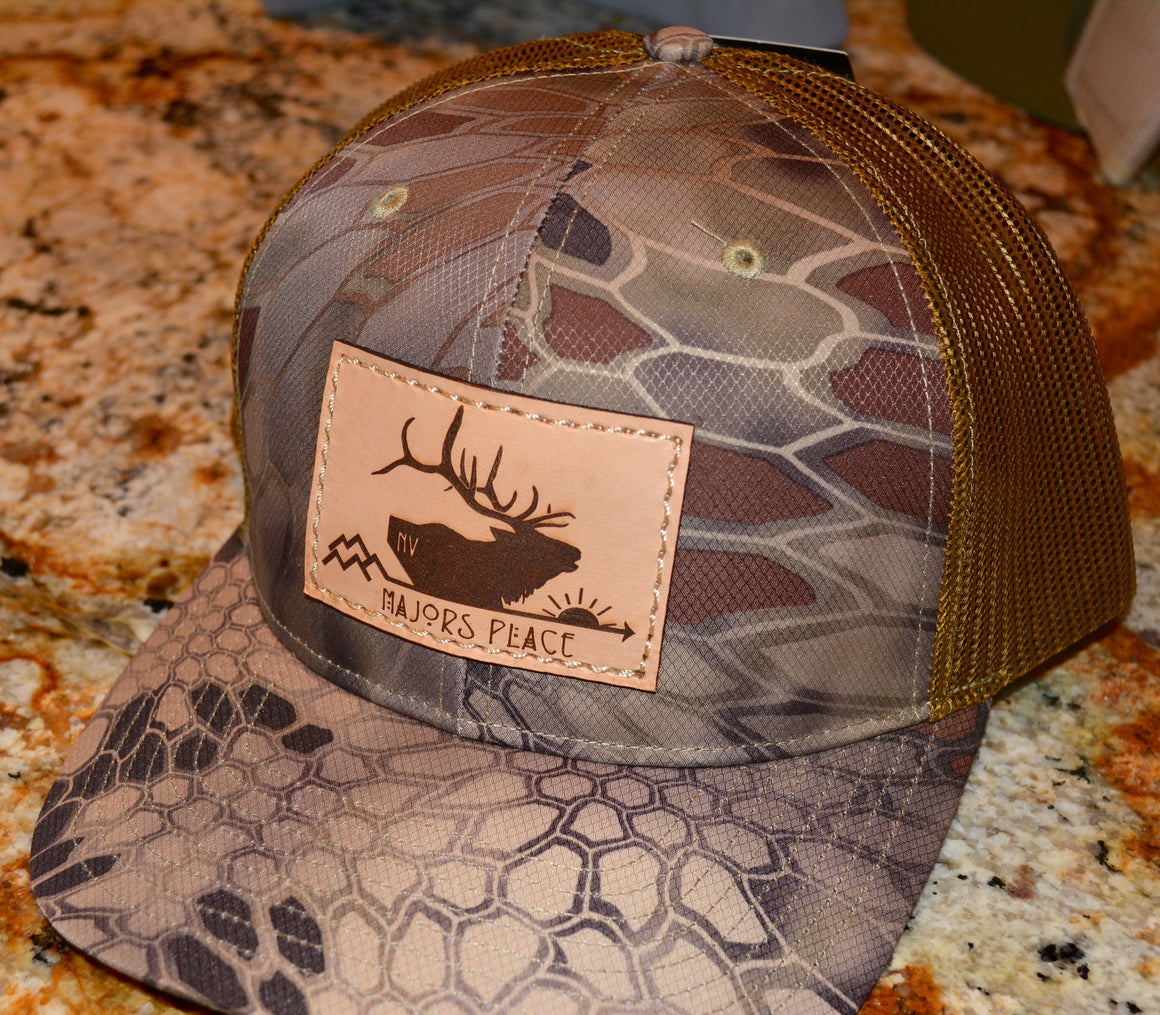 Kryptek Highlander/Buck Trucker Majors Place Hat