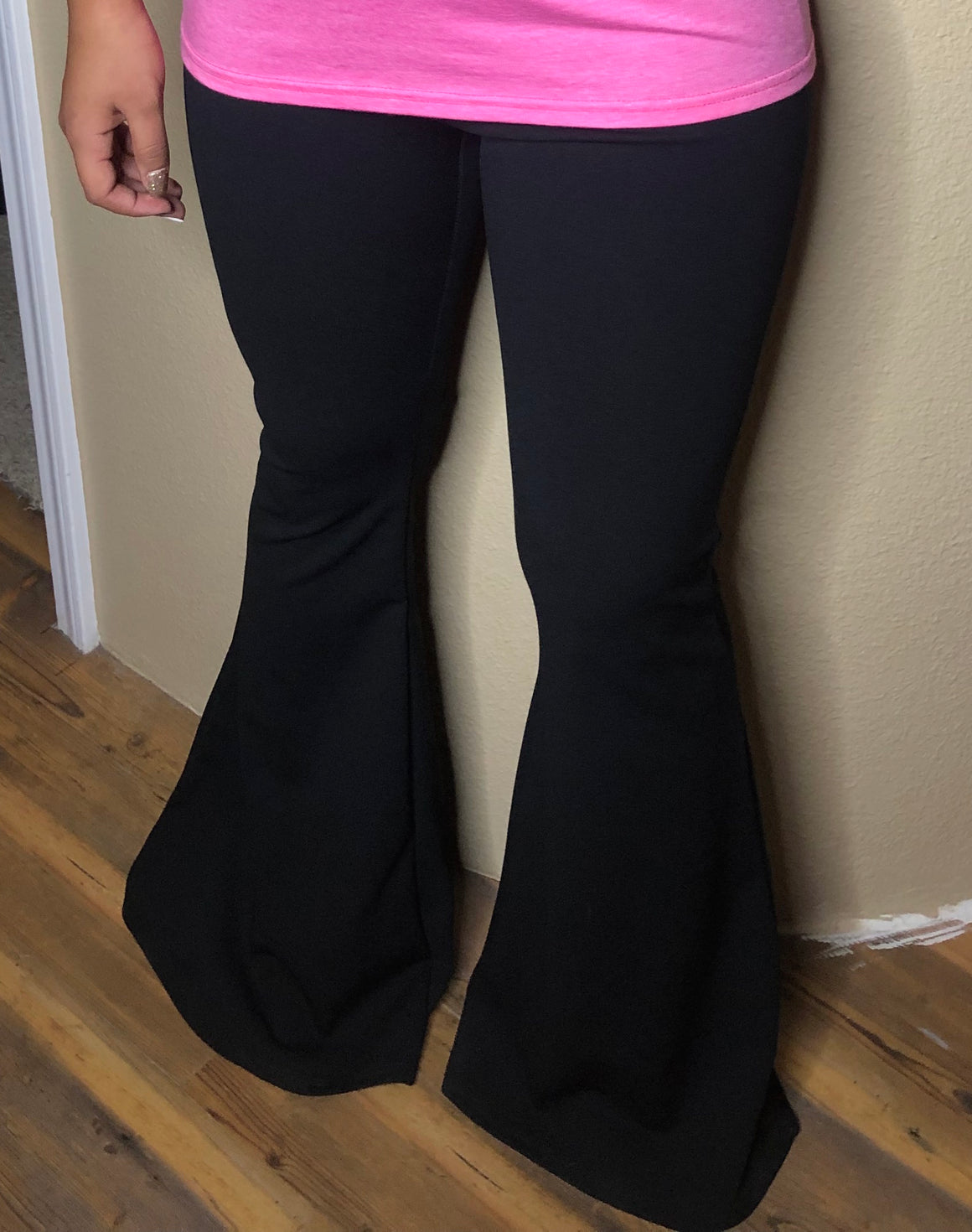 Black Flare Dress Pants