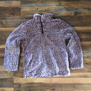 Sherpa Pullover Sweater