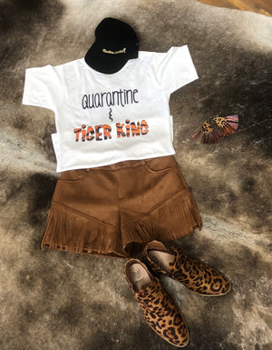 Quarantine and Tiger King Tee
