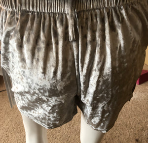 Fringe Shorts with Front Pockets