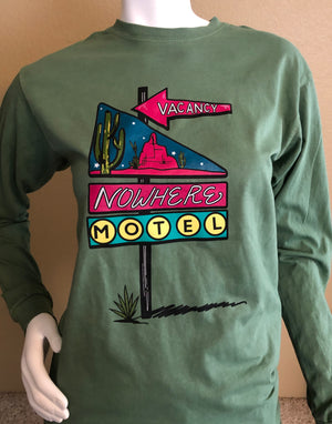 Nowhere Motel Long Sleeve Shirt