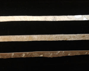 Acid Washed Cowhide Chokers