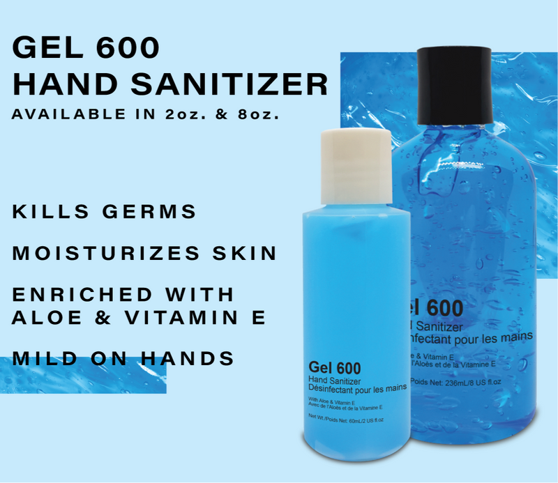 IllmanFX Blue Gel Hand Sanitizer