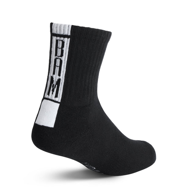 3 - Sport Socks in Black - Bam Sox