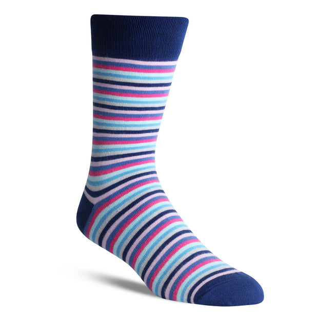 Multi Colour Thin Stripe - Bam Sox