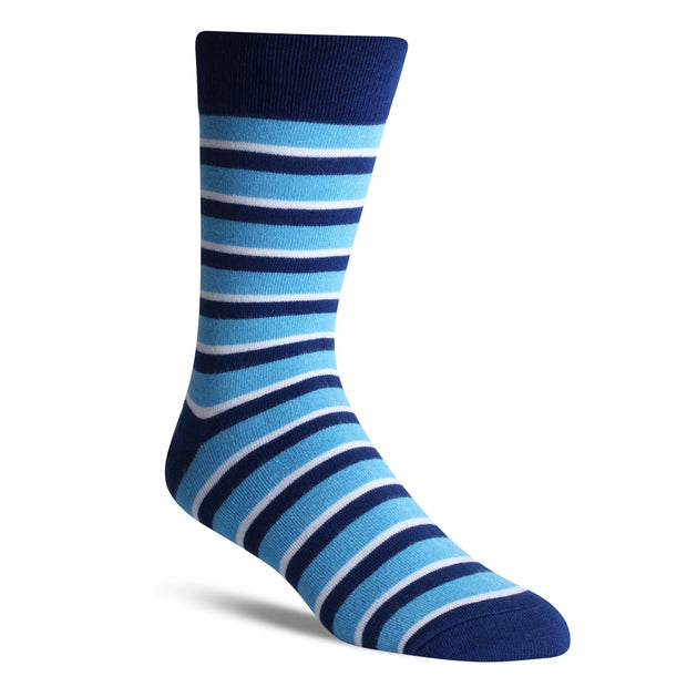 Thick Blue Stripe - Bam Sox
