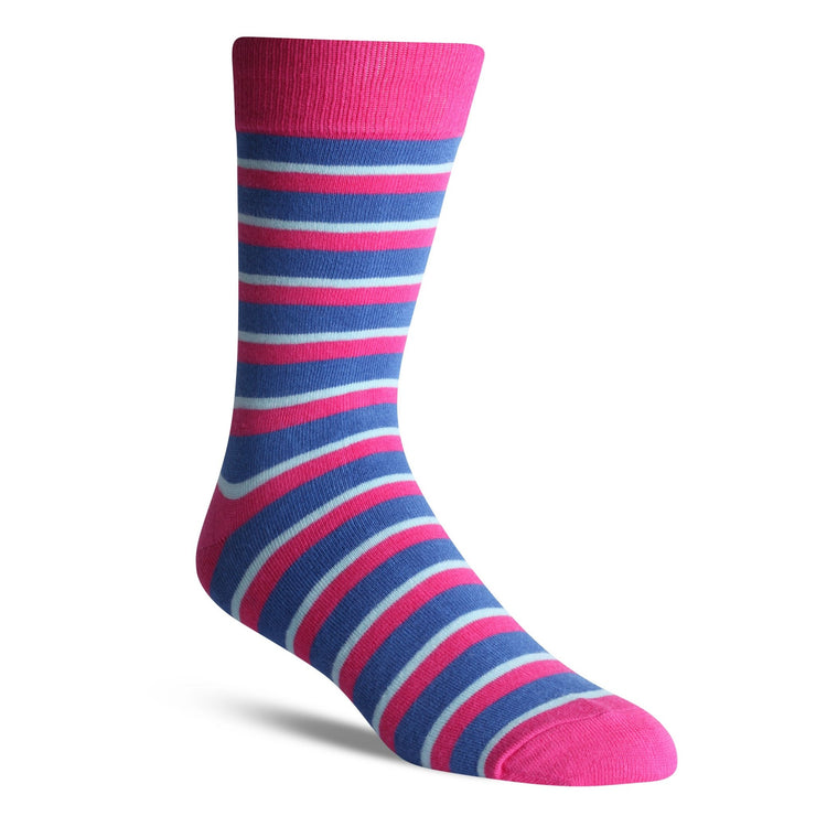 Thick Pink Stripe - Bam Sox