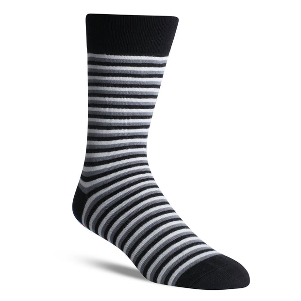 Thin Black Stripe - Bam Sox